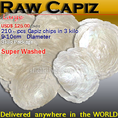 Capiz RawL Delivered anywhere in the world
