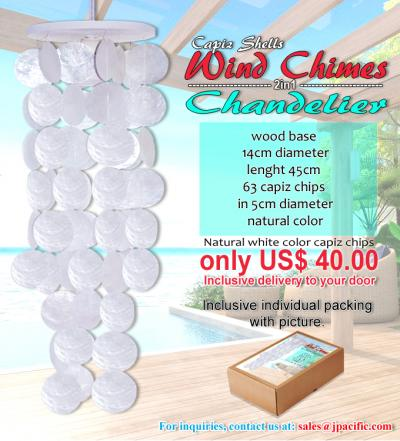 Wind Chime White