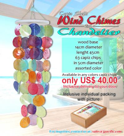 Wind Chime Colored
